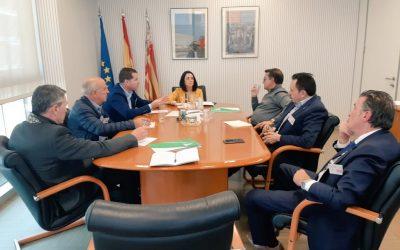 FIECOV se reúne con Rebeca Torró, Secretaría Autonómica de Economía Sostenible